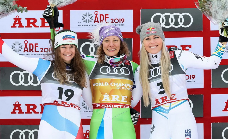Ilka Stuhec downhill gold in re