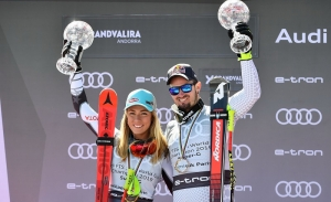 Mikaela Shiffrin Dominik Paris Super G 2019 Andorra