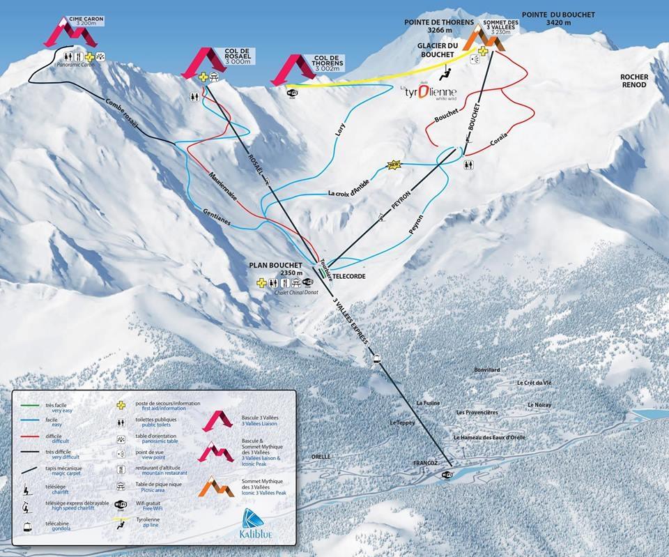 Doline fra nova ski mapa za skijanje rs