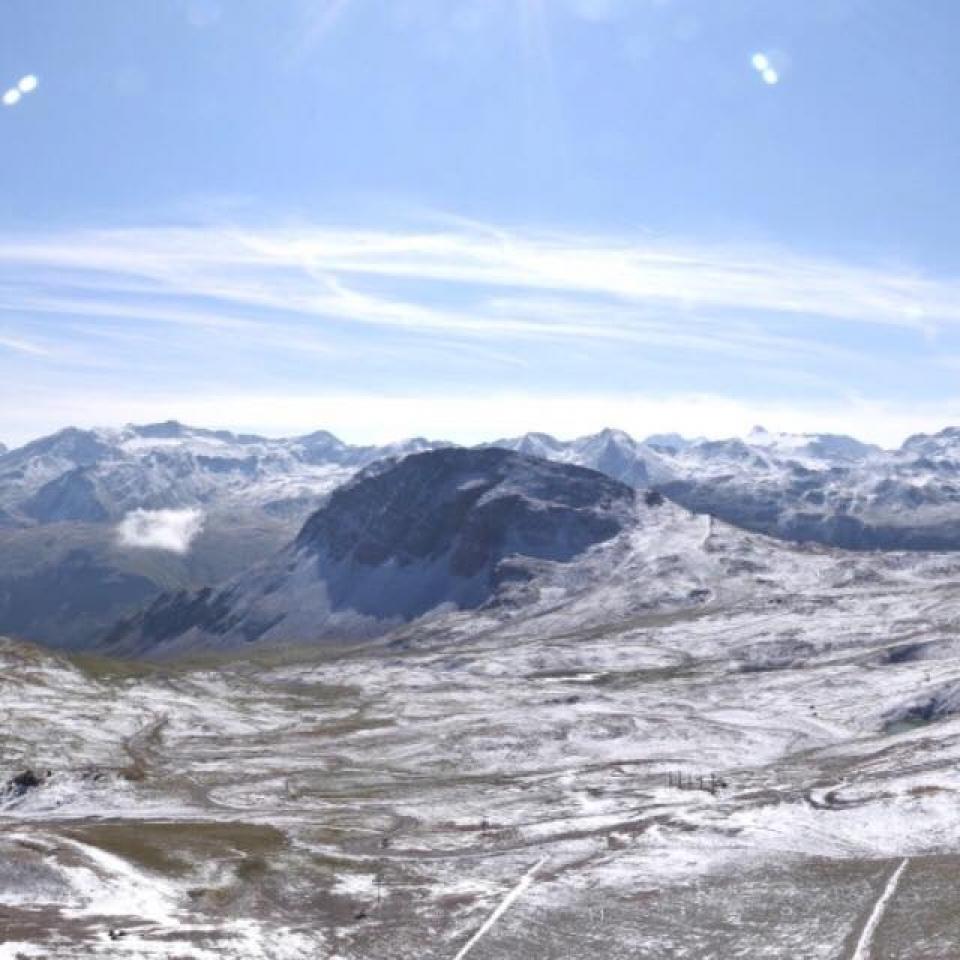 Sneg u alpima italiji austriji sloveniji