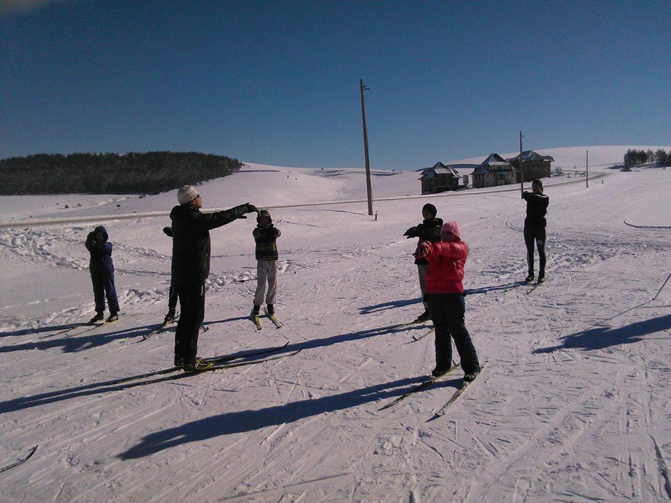 Nordijsko skijanje seminar za trenere na zlatiboru
