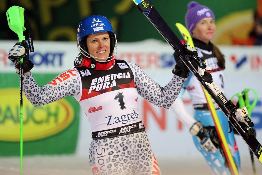 Alpsko skijanje nevena ignjatović na slalomu