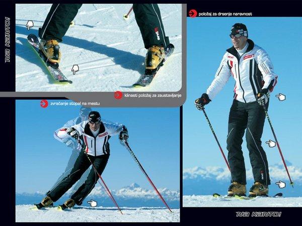Ups učenje s povećanjem skija skijanje rs