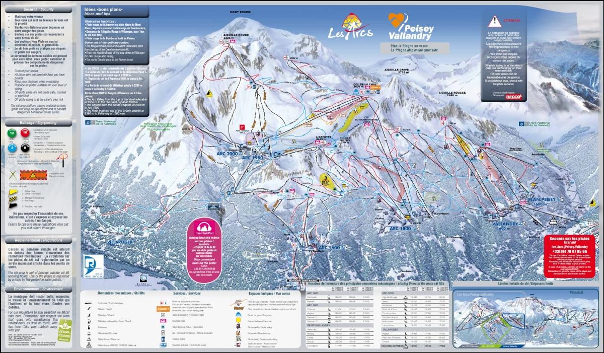 Общая протяженность горнолыжных трасс - 200 км... Карта региона (в новом окне) Скачать.