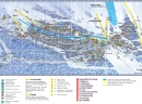 Courchevel 1850 - plan grada