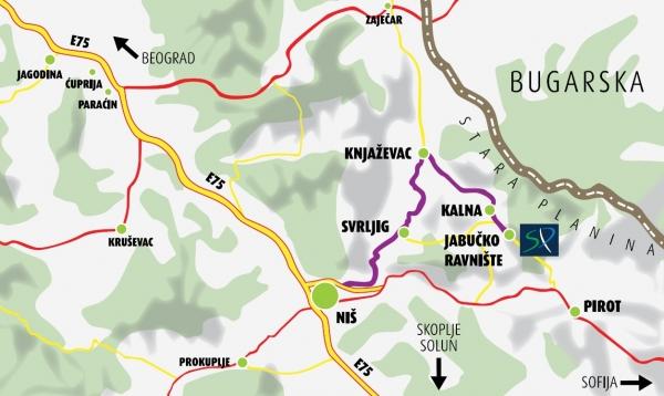knjazevac mapa srbije Babin Zub, Stara Planina, Knjaževac » Skijanje.rs knjazevac mapa srbije