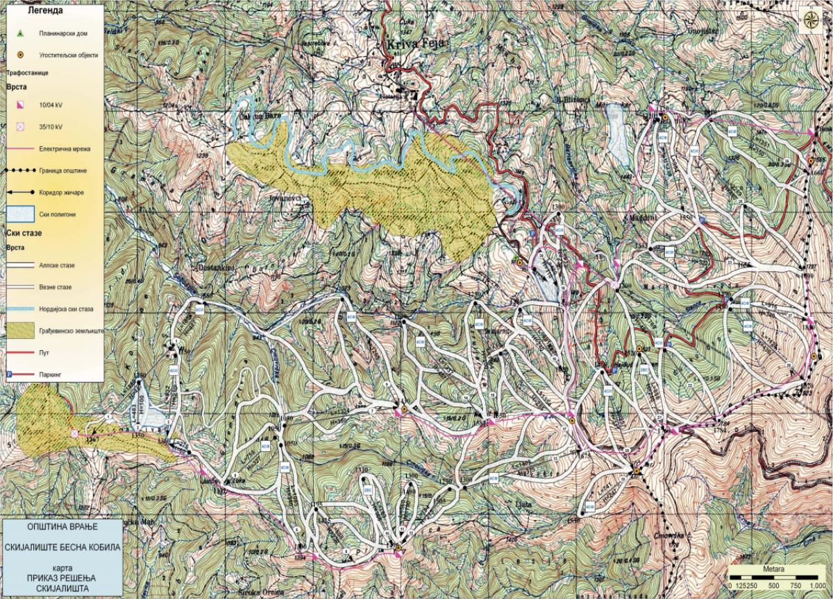 Planovi i projekti skijališta Besna Kobila » Skijanje rs