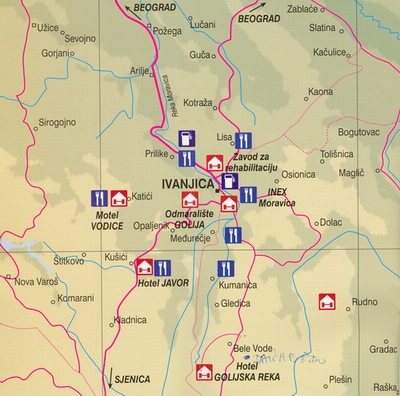 mapa srbije ivanjica Golija   Ivanjica, Dajica brdo » Skijanje.rs mapa srbije ivanjica
