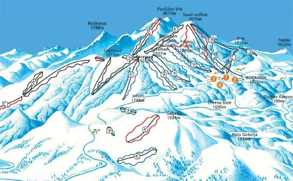 Ostale Mape Koapaonika Skijanje Rs
