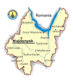 mapa srbije kucevo Rajkovo   Majdanpek » Skijanje.rs mapa srbije kucevo