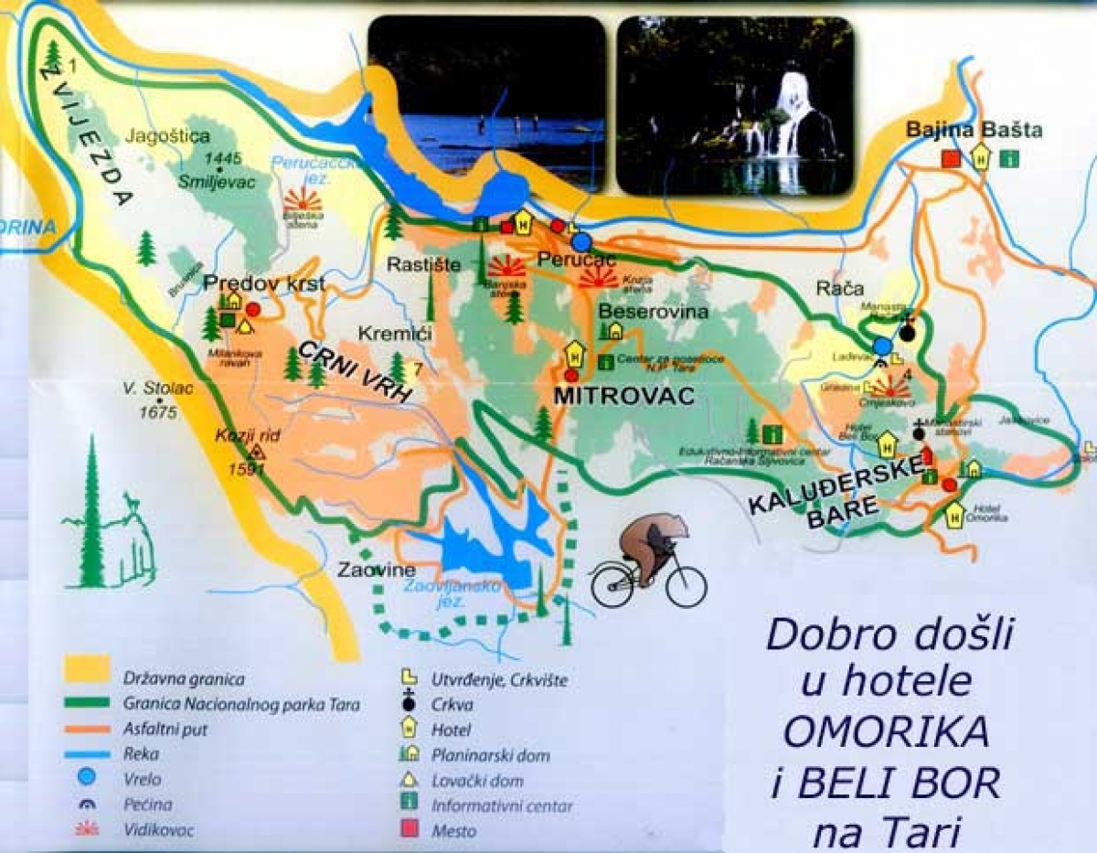 tara mapa srbija Tara » Skijanje.rs tara mapa srbija