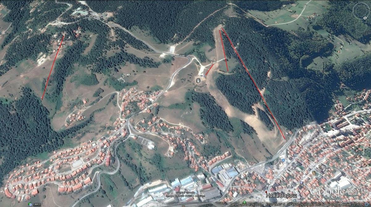 zlatar mapa Briježđa   Nova Varoš » Skijanje.rs zlatar mapa