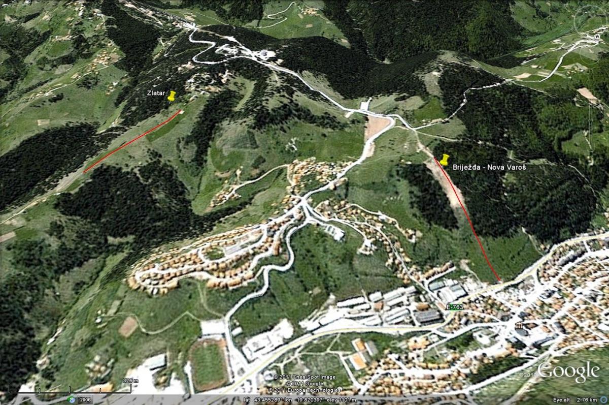 Brijezđa Nova Varos Skijanje Rs
